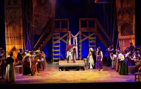 Musical Theater - Hunchback of Notre Dame performed by the Calabasas High School Theater program