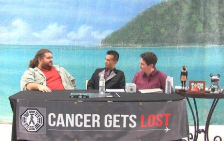Cancer Gets Lost Auction / Webcast with Jorge Garcia