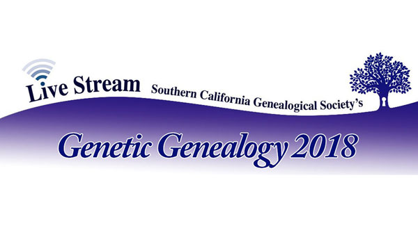 SCGS 2019 Genetic Genealogy