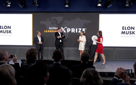 Elon Musk presents Global Learning Xprize