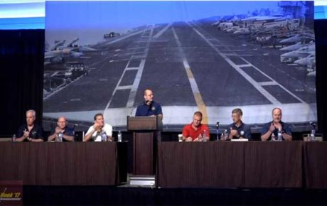 Aviation Flag Panel at Tailhook 2017 symposium