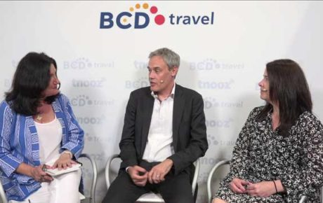 tnooz with BCD Travel Live at the GBTA Conefrence San Diego